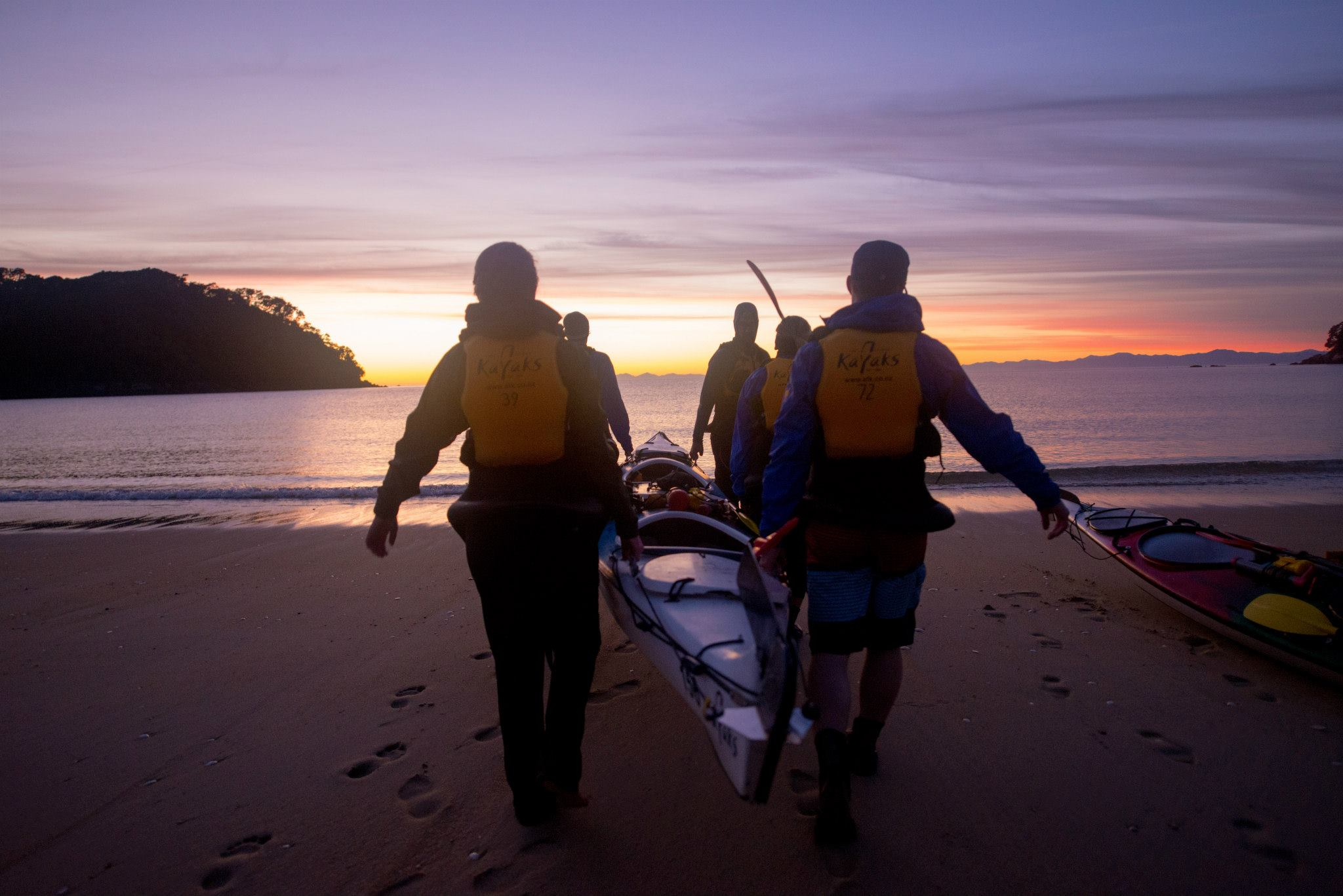 3 Day Kayak & Walk South