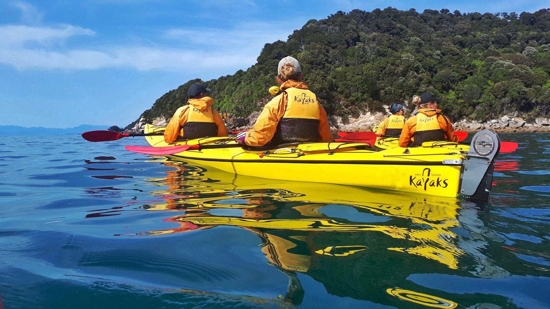 1 day kayak & walk - Abel Tasman Kayaks