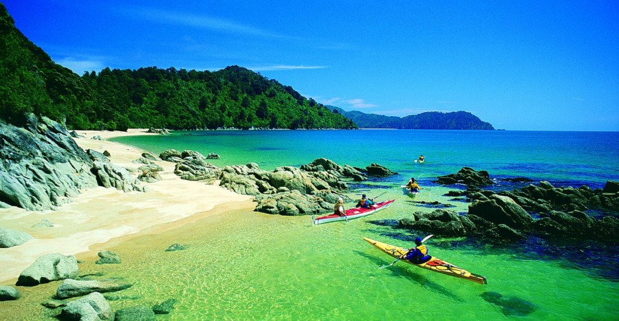 Remote Marine Reserve - Abel Tasman Kayaks