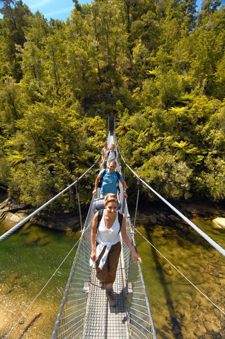 Falls River Swing - Abel Tasman Kayaks