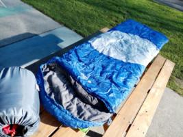 Sleeping bag and liner