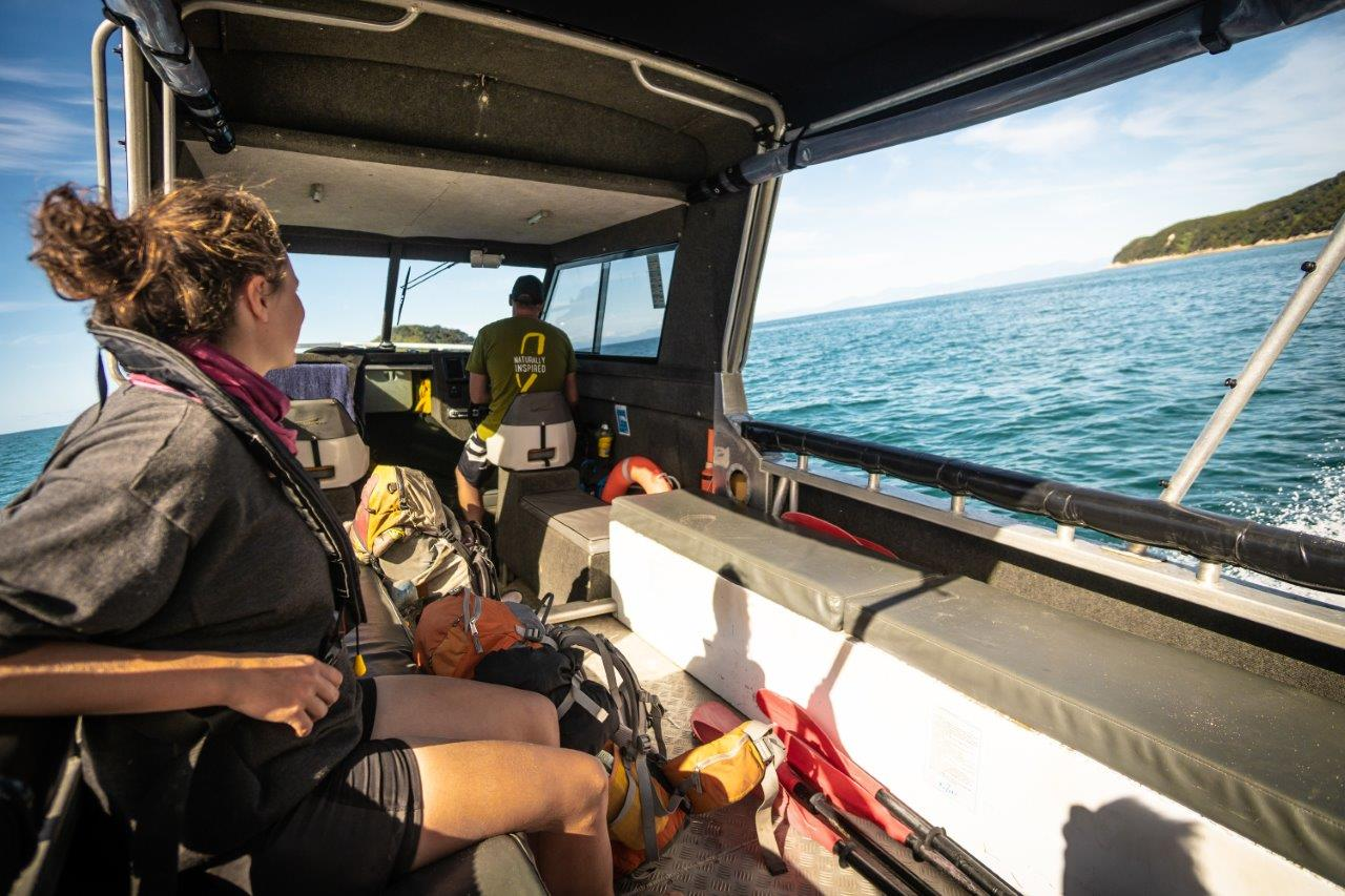 Scenic Cruise and walk Abel Tasman Kayaks